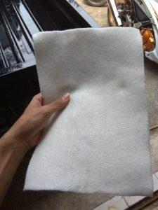 jual geotextile nonwoven warna putih